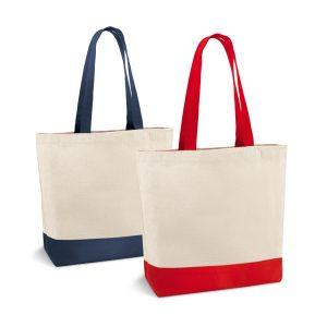 Eco bag confeccionada em Algodão, bolso interno