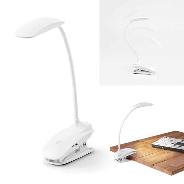 Luminária de mesa em ABS com LED