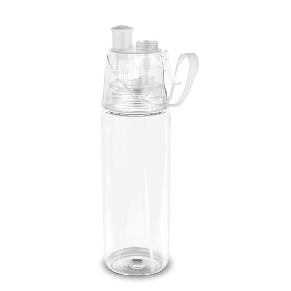 Squeeze em PS e ABS, com borrifador de água 600 ml