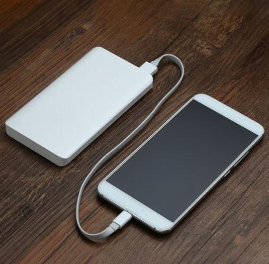 Brindes tecnologicos - Bateria portátil