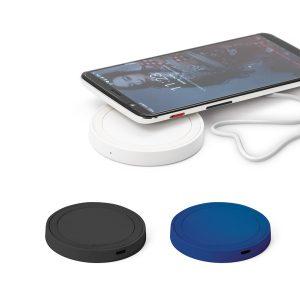 Carregador wireless fast produzido em ABS e silicone